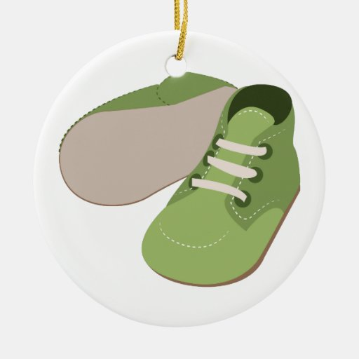Zapatos de bebé ornamento para reyes magos