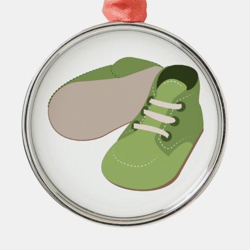 Zapatos de bebé ornamento de navidad