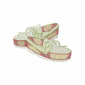 Zapatos de la cubierta polo bordado