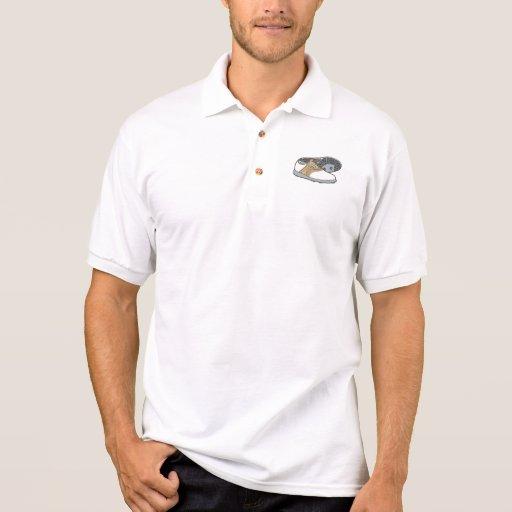 zapatos del golf camisetas polos