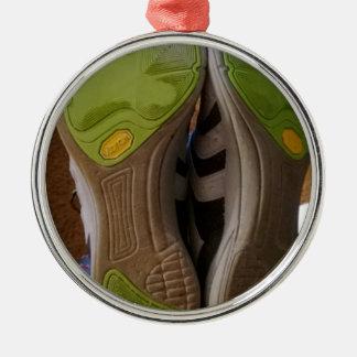 Zapatos gastados adorno