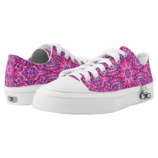 Zapatos, hombres y mujeres púrpuras rosados del