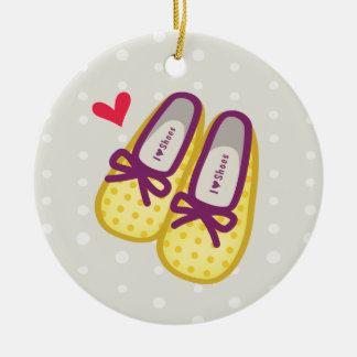 Zapatos lindos del chica ornamento para reyes magos