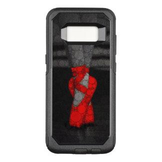 Zapatos rojos de Pointe del ballet Funda Commuter De OtterBox Para Samsung Galaxy S8