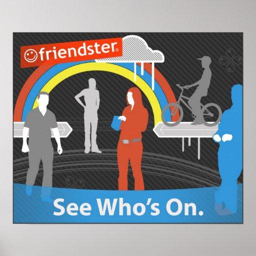 zazFriendster - vea quién está prendido Poster