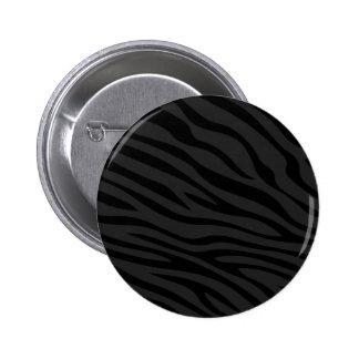 Zebbra raya negro plano pins