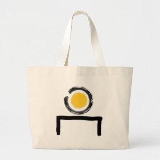 Zen en mi logotipo del escritorio bolsas de mano