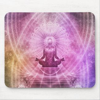 Zen espiritual de la meditación de la yoga alfombrilla de ratón