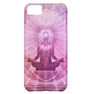 Zen espiritual de la meditación de la yoga carcasa iPhone 5C