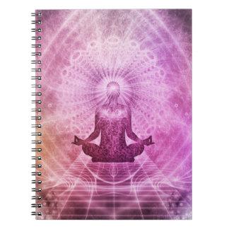 Zen espiritual de la meditación de la yoga cuaderno