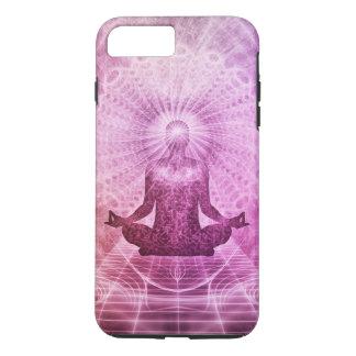 Zen espiritual de la meditación de la yoga funda para iPhone 8 plus/7 plus