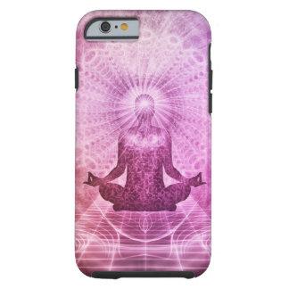Zen espiritual de la meditación de la yoga funda resistente iPhone 6