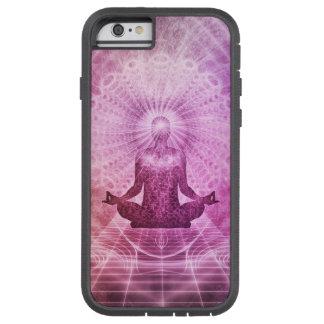 Zen espiritual de la meditación de la yoga funda tough xtreme iPhone 6