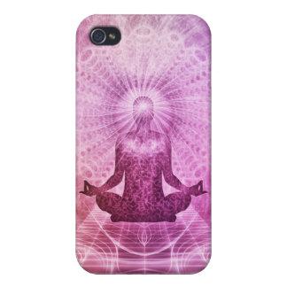 Zen espiritual de la meditación de la yoga iPhone 4 coberturas