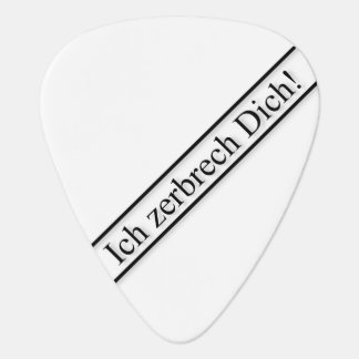 Zerbrecher Plek Uñeta De Guitarra