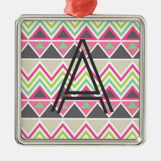 Zigzag azteca tribal del triángulo del zigzag del ornamento de reyes magos