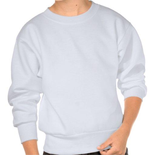 Zigzag - blanco y azul claro pulovers sudaderas