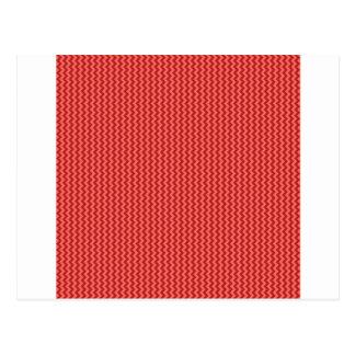 Zigzag - rojo en colores pastel y Firebrick Postal