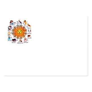 Zodiac-Signs-All-V-1 Tarjetas De Visita Grandes
