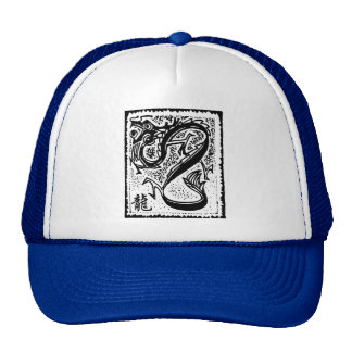 Zodiaco chino - dragón chino del zodiaco gorros bordados