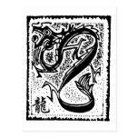 Zodiaco chino - dragón chino del zodiaco postal