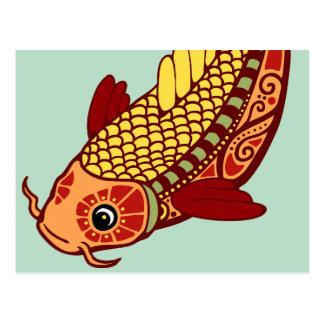 Zodiaco de Piscis - pescado Tarjetas Postales