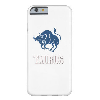 Zodiaco del tauro de Iphone 6 del caso Funda Barely There iPhone 6