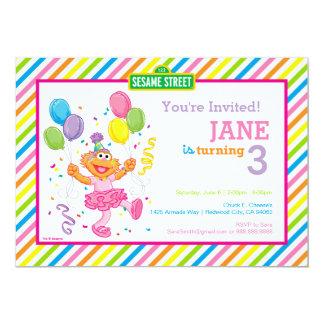 Zoe rayó cumpleaños invitación 12,7 x 17,8 cm