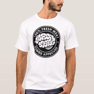 Zombi aprobado camiseta
