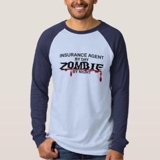 Zombi del agente de seguro camiseta