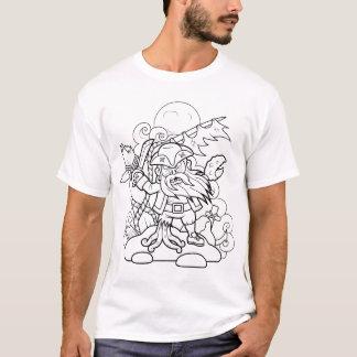 zombi del pirata camiseta