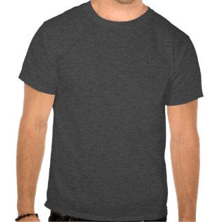 Zombi por noche - individuo regular por día camisetas