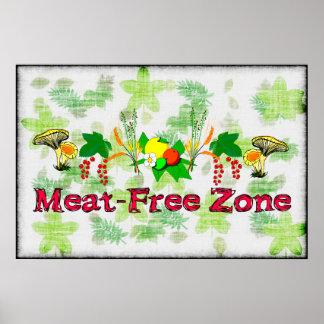 Zona Carne-Libre Póster