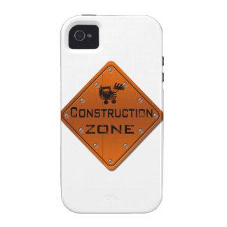 Zona de la construcción vibe iPhone 4 fundas