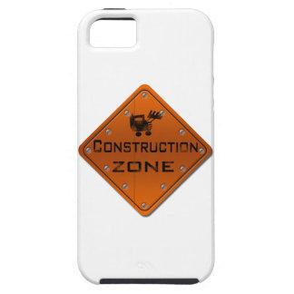 Zona de la construcción iPhone 5 Case-Mate cobertura