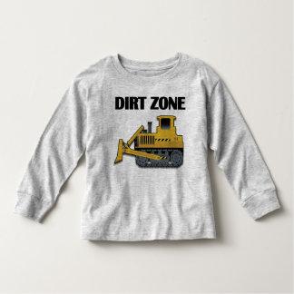 Zona de la suciedad (niveladora) - manga larga camiseta de bebé