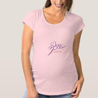 Zona de maternidad del corazón de Shirt~One de las Camiseta De Premamá