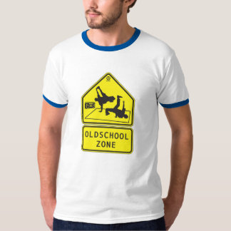 zona del oldschool camiseta