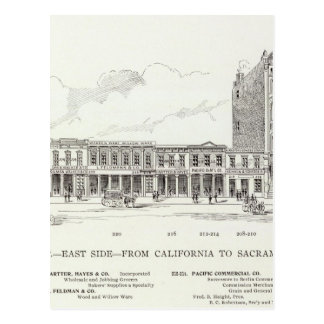 Zona este delantera California y Sacramento Postal