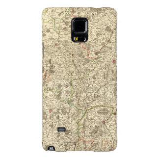 Zonas urbanas de Francia 2 Funda Galaxy Note 4