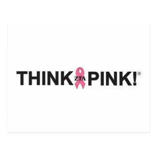 ¡ZTA Think Pink! Postales