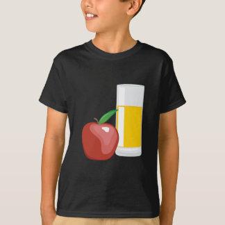 Zumo de manzana camiseta