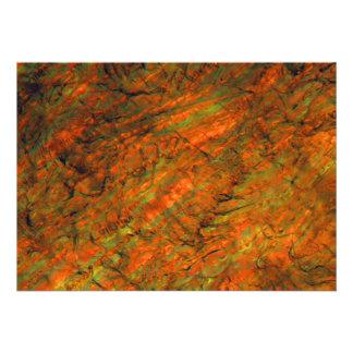 Zumo de naranja debajo del microscopio