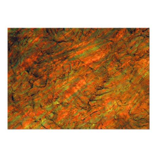 Zumo de naranja debajo del microscopio comunicado