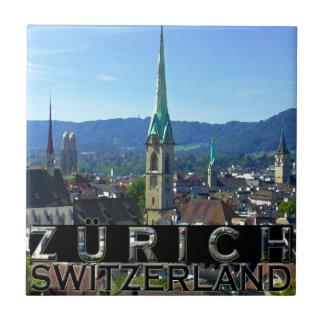 Zurich Azulejo Cuadrado Pequeño