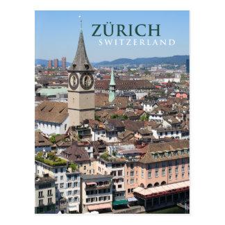 Zurich Suiza Postal